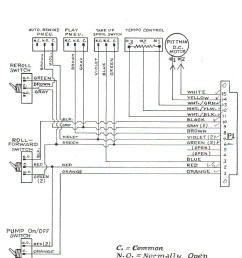 classic player piano wiring diagrams  [ 1190 x 1447 Pixel ]