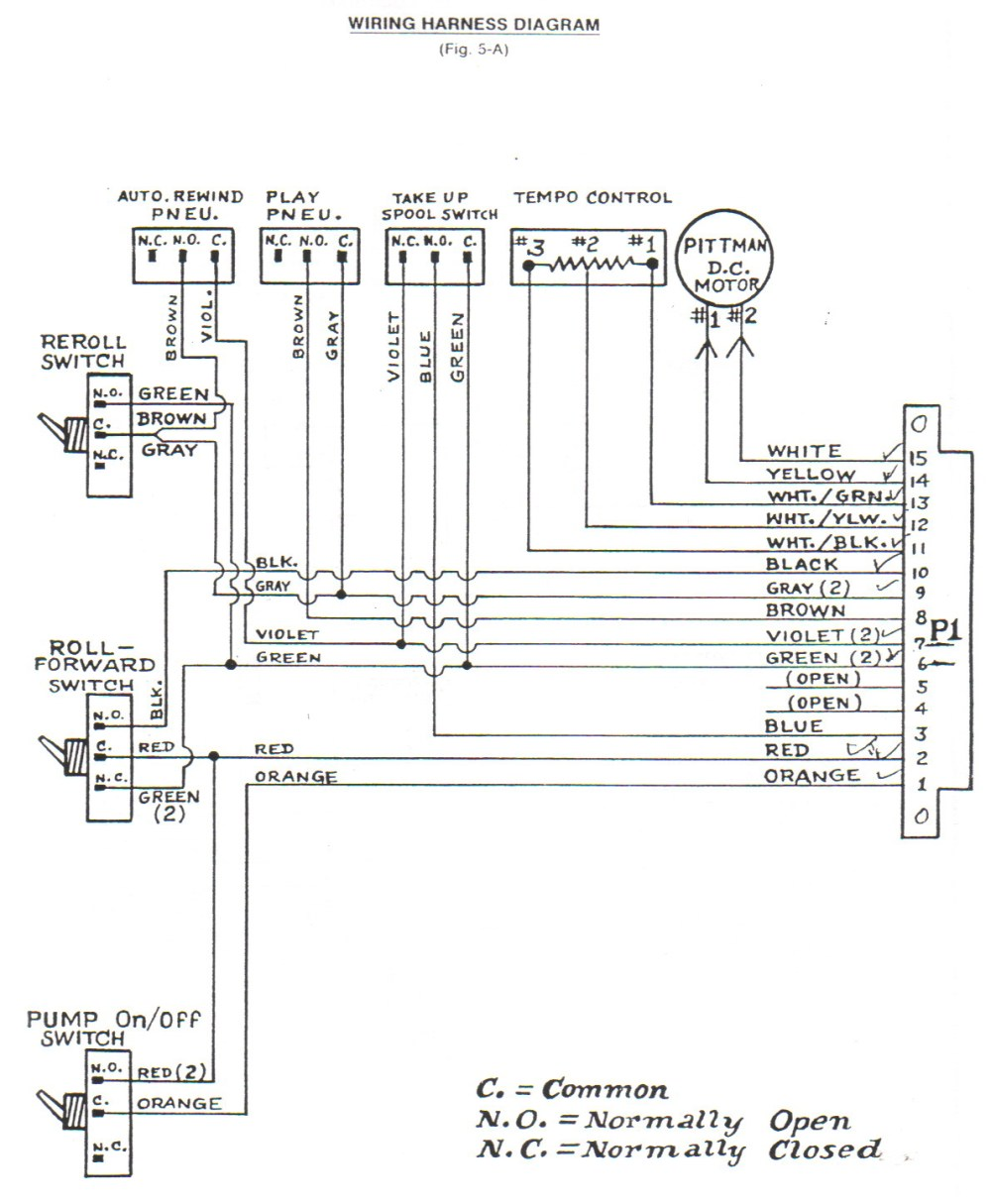 medium resolution of classic player piano wiring diagrams