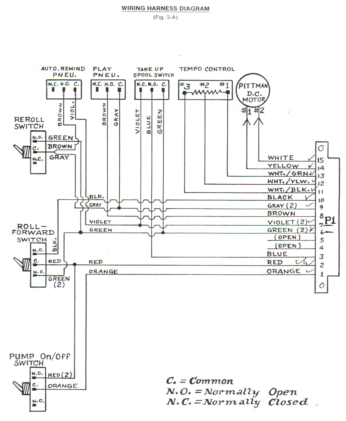 hight resolution of classic player piano wiring diagrams
