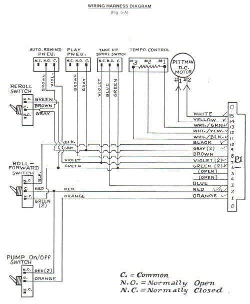 small resolution of classic player piano wiring diagrams