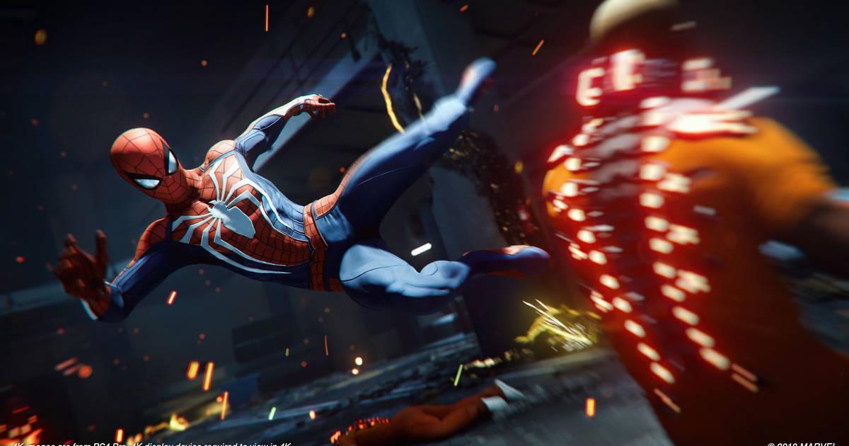spiderman cinemática