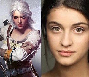 The Witcher cast oficial