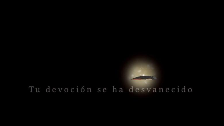 tu devoción se ha desvanecido