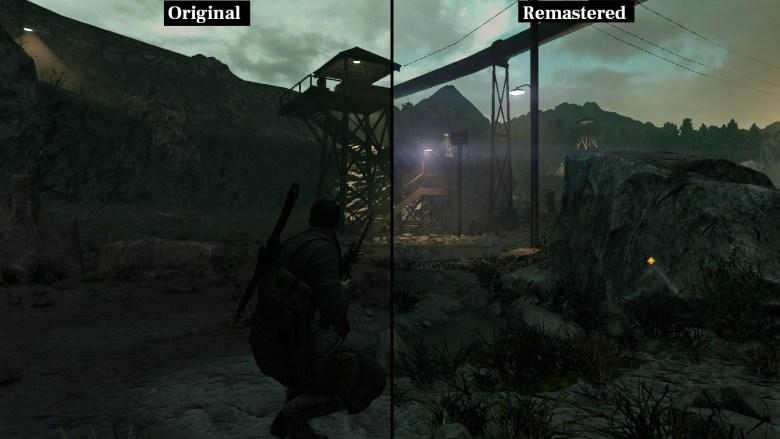 Sniper Elite Remastered graficos