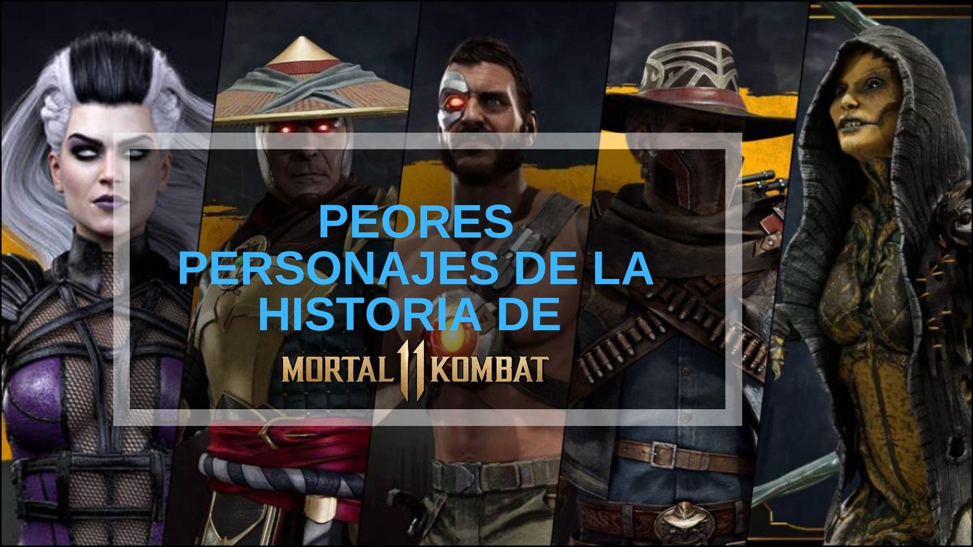 Peores personajes de Mortal Kombat
