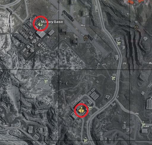 CoD-warzone-Bancos Base Militar