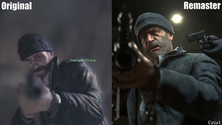 call of duty modern warfare 2 original vs remaster