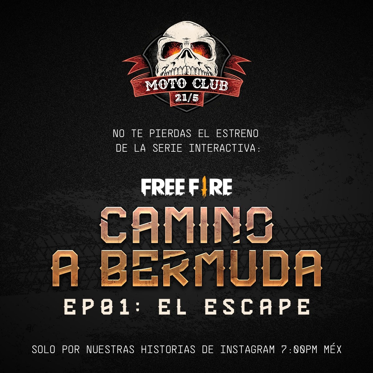 FreeFire-Camino a Bermuda el escape