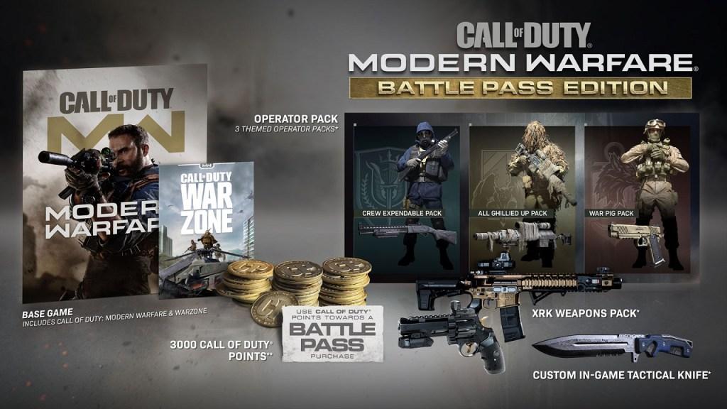 COD Warzone - Temporada 4 Recargada - Digital Edition Battle Pass