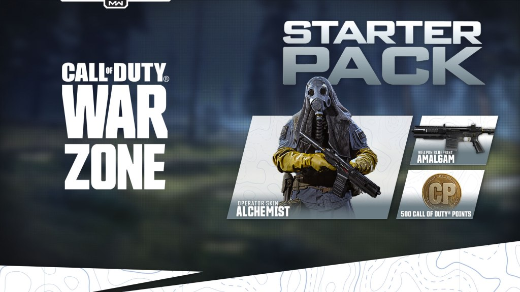 COD Warzone - Temporada 4 Recargada - Starter Pack