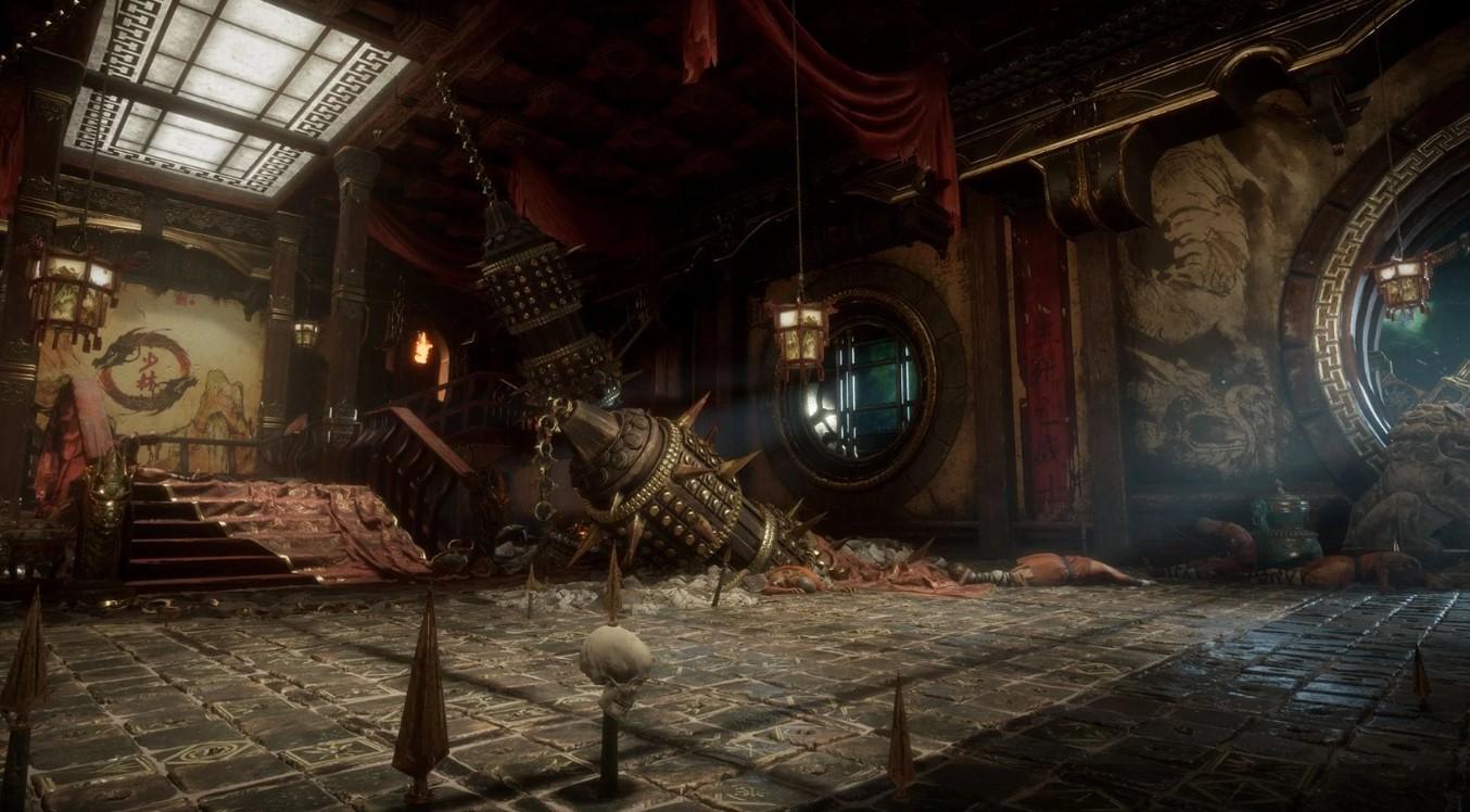 MK11-Aftermath-Escenario-Shaolin-TrapDungeon