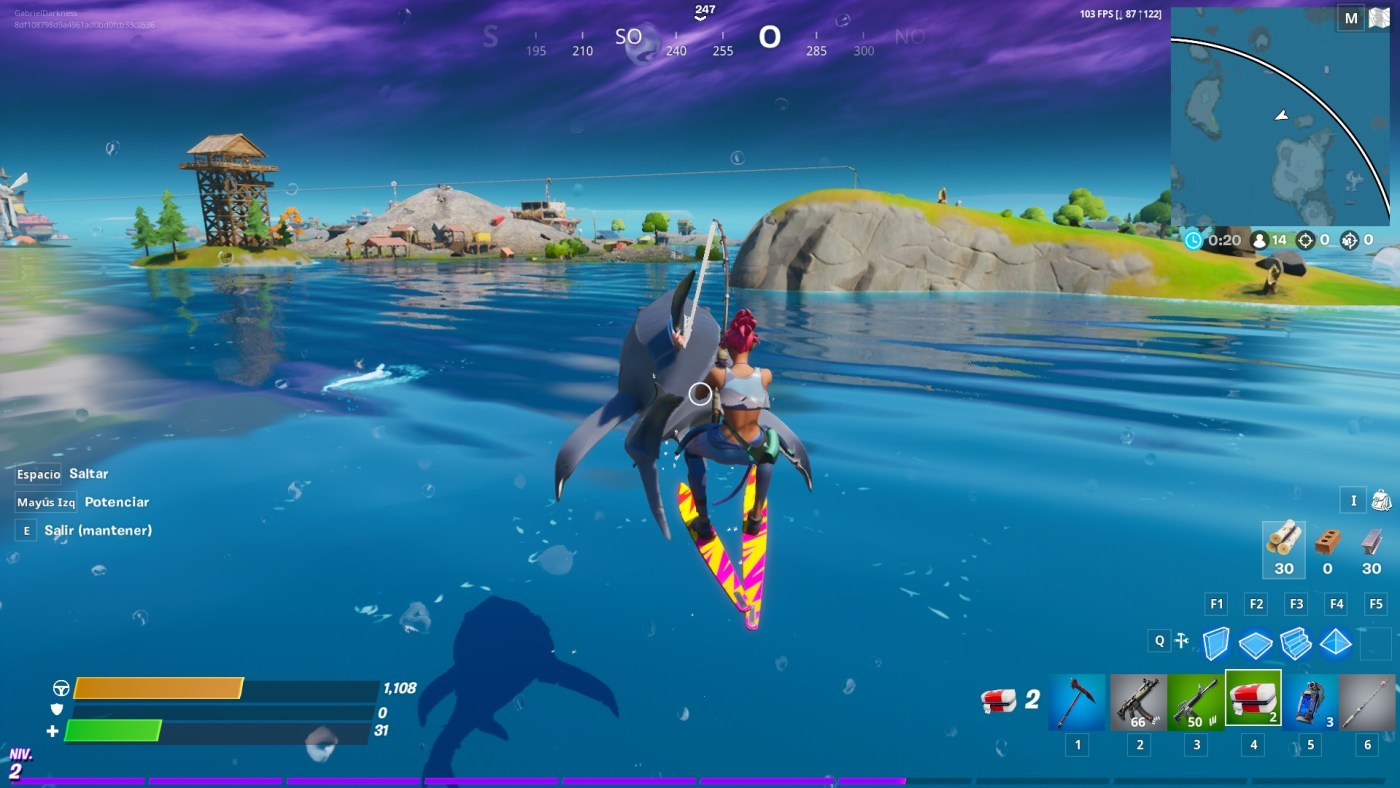 fortnite tiburón