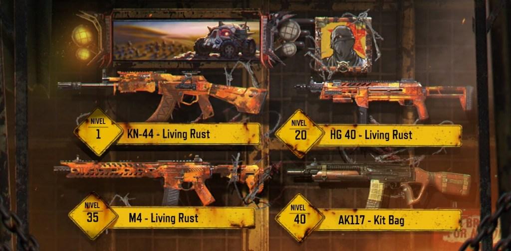 CoD Mobile - The Forge - Armas Pase de Batalla