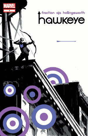 Hawkeye #01 cover
