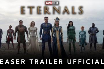 Il primo trailer di Eternals, il cinecomic di Chloé Zhao