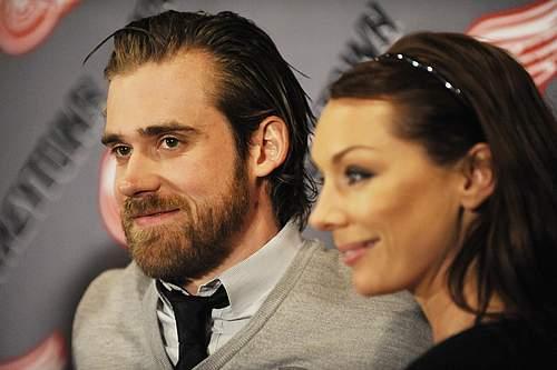 Henrik Zetterbergs wife Emma Andersson  PlayerWivescom