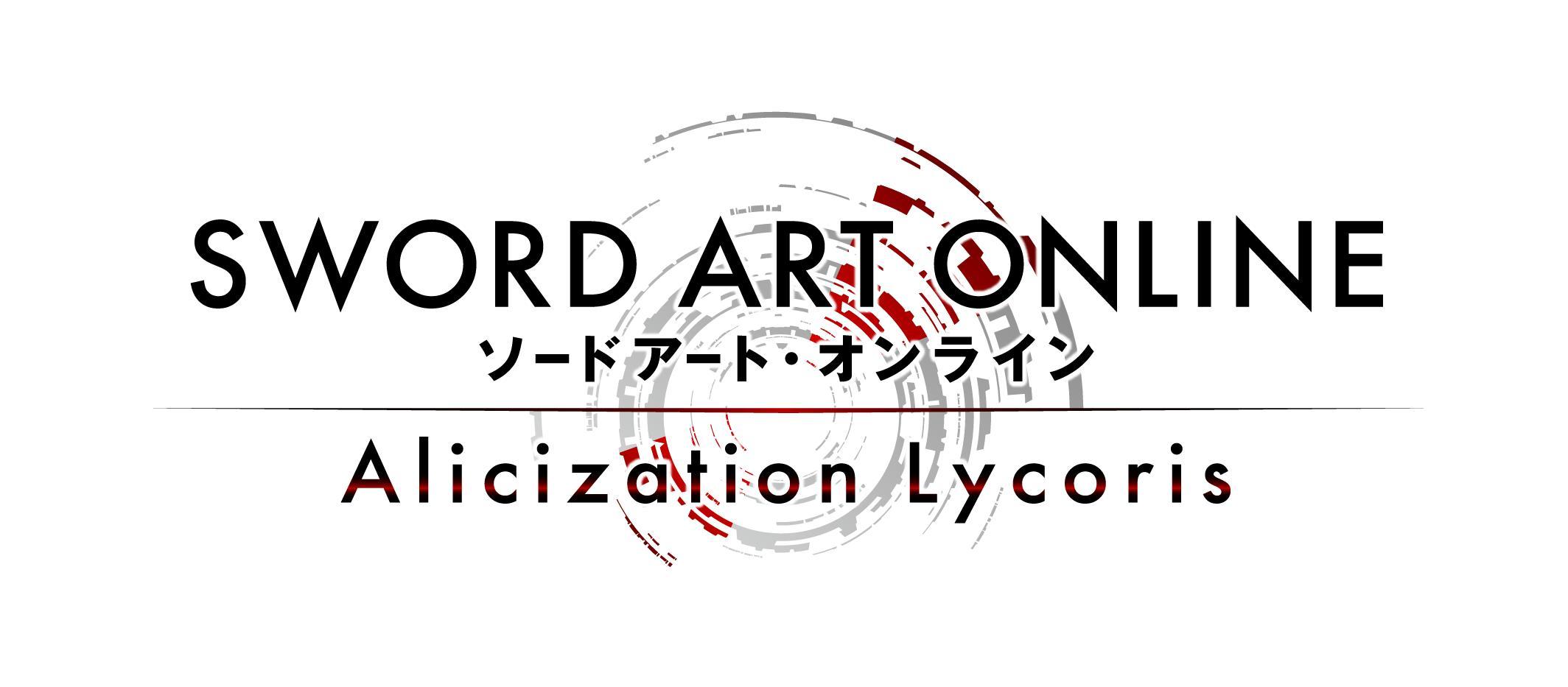Bandai Namco annonce Sword Art Online Alicization Lycoris