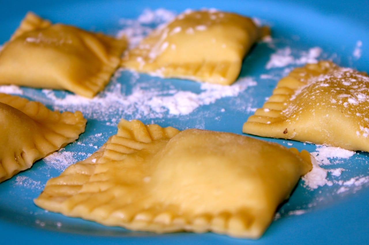 Shrimp Stuffed Ravioli