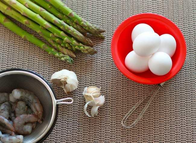 Asparagus and Shrimp Quiche 3