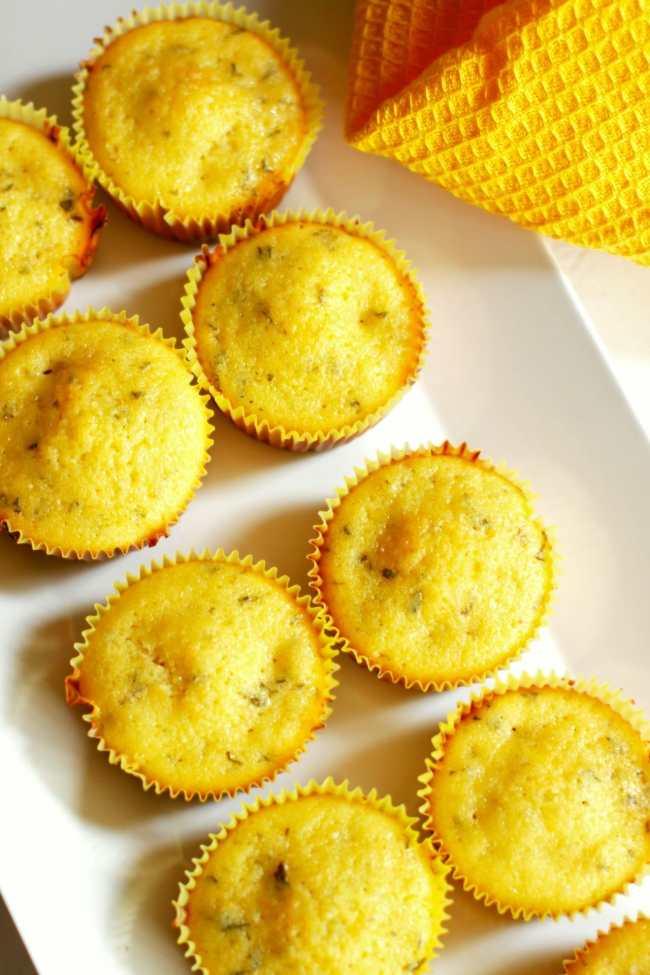 Lemon Mint Cupcakes 1