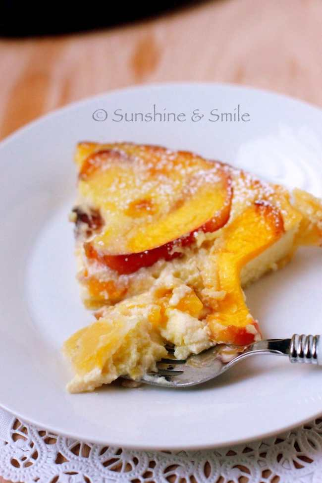 Flaky Tart with Peach and Ricotta 6