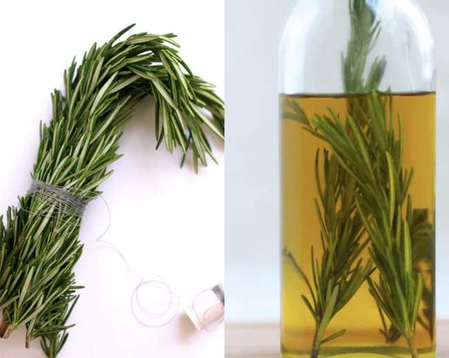 Rosemary and Garlic Infused Olive Oil 3