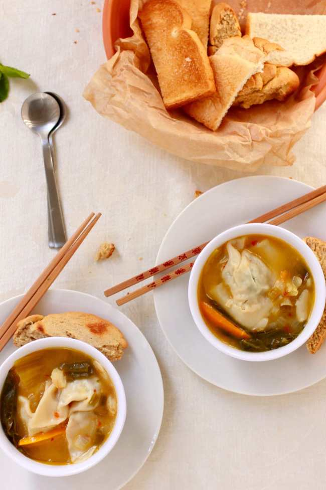 Chicken Wonton Soup 4