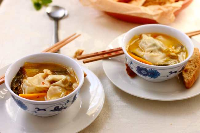 Chicken Wonton Soup 3