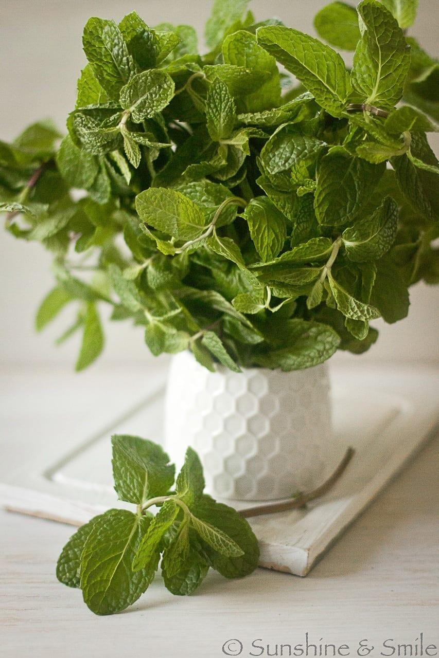 Green Chickpea Salad with Yogurt Dressing 2