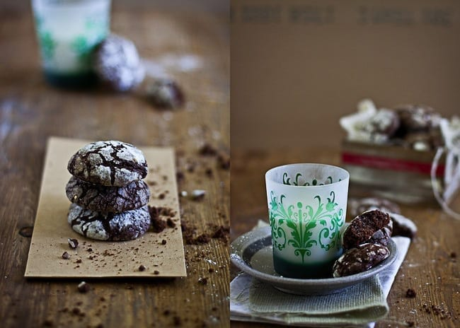 Chocolate Crinkle Cookies 2