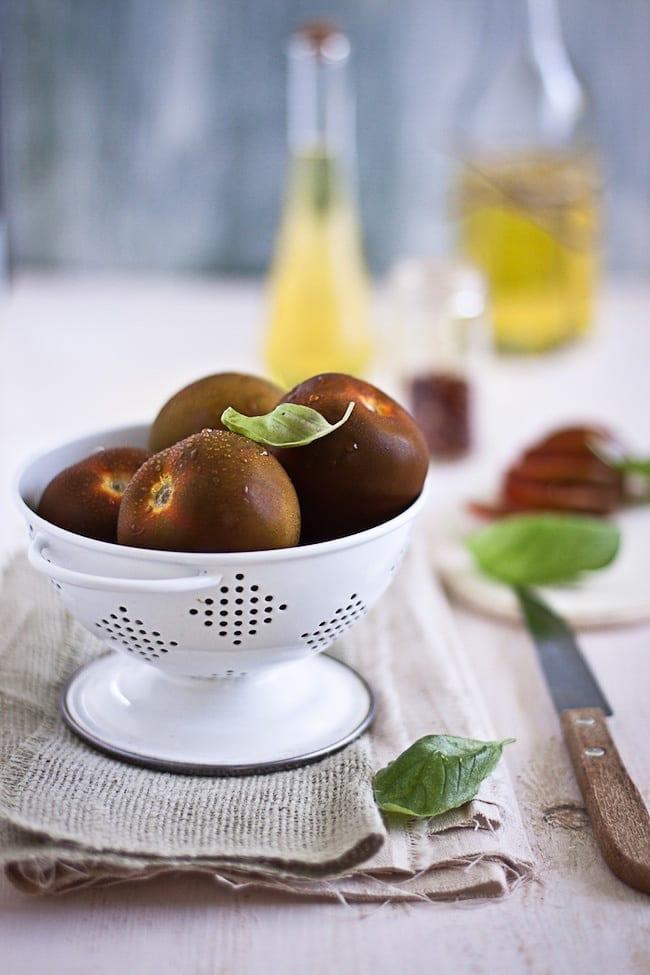 Tomato Tart with Basil and Paneer 2