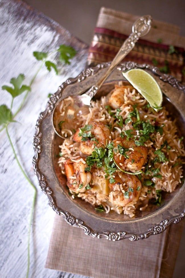 shrimp pulav 4