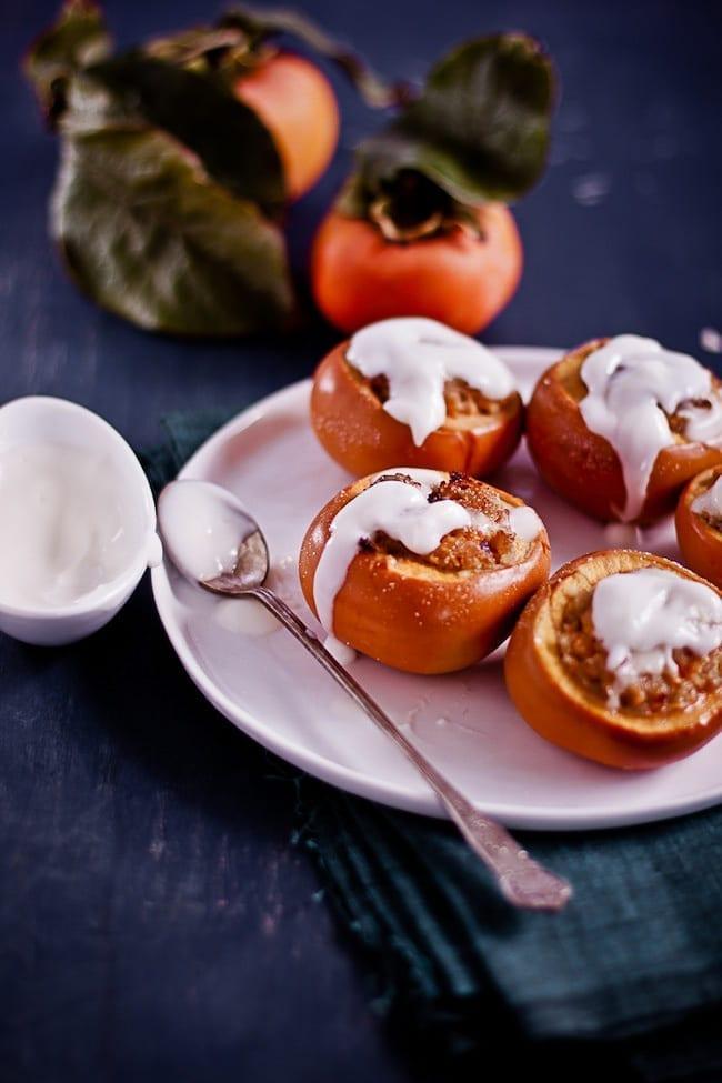 Baked Persimmon Crisp 3