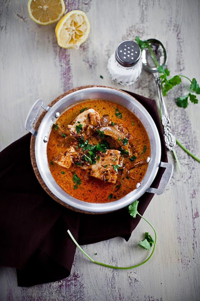 Zesty Fish Curry with Coconut Milk 4