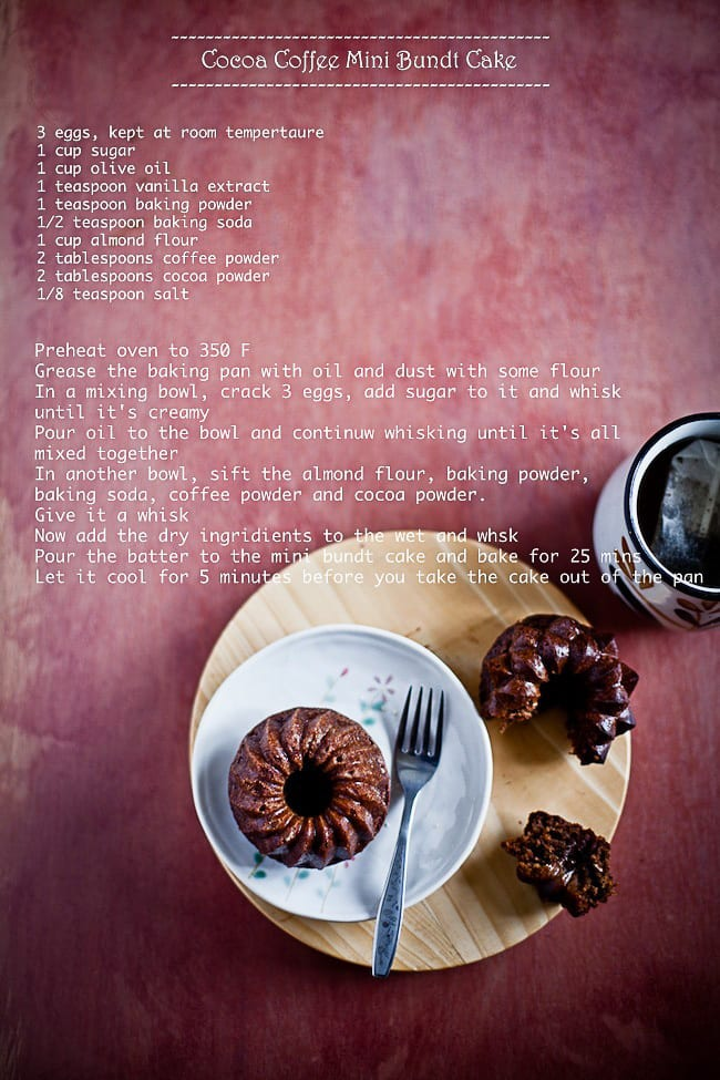 Cocoa Coffee Bundt Cake 4