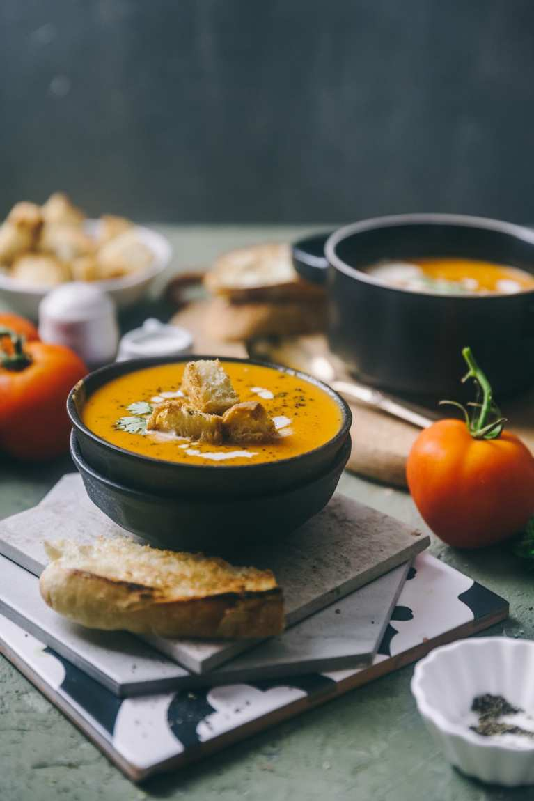 Tomato Shorba - Spiced Tomato Soup | Playful Cooking #soup #tomato #foodphotography #indianrecipe #tomatoshorba