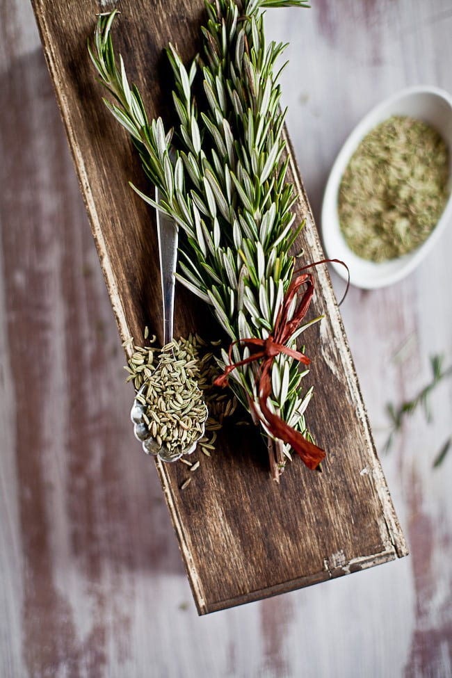 Fennel and Rosemary : Sunshine and Smile