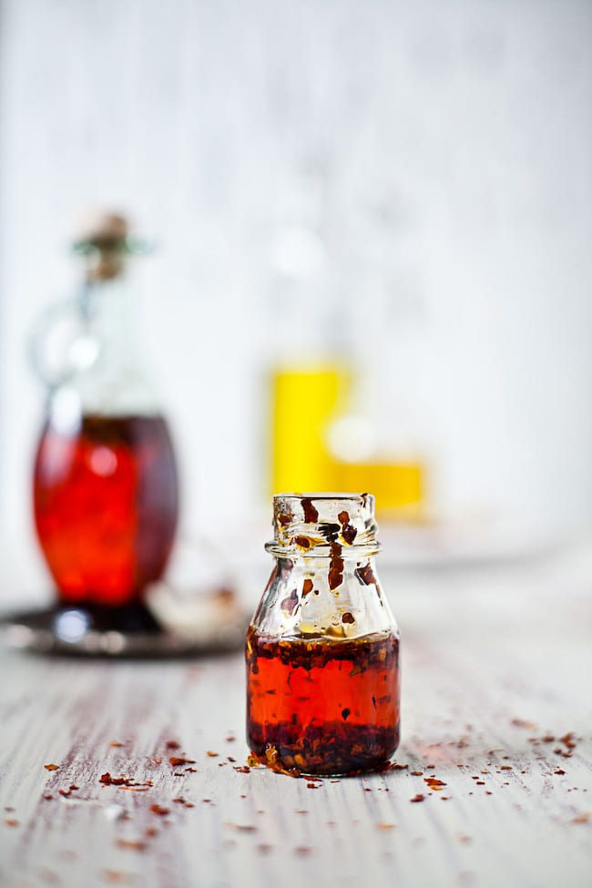 Garlic Chili Oil | Sunshine and Smile