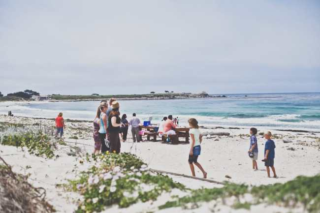 On The Beach | Playful Cooking