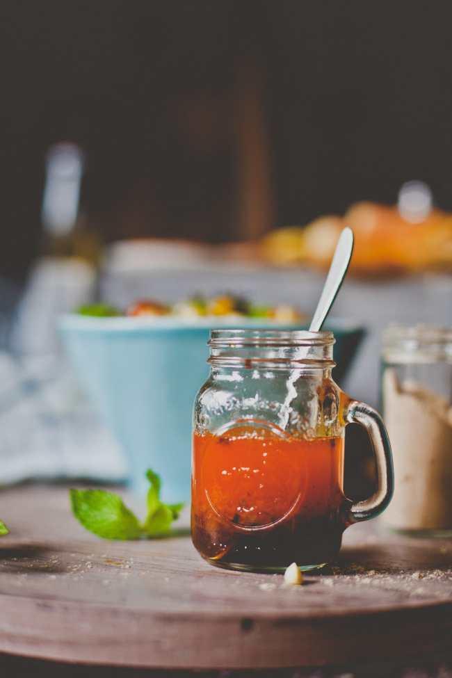 Chili Oil Lemon Vinaigrette | Playful Cooking
