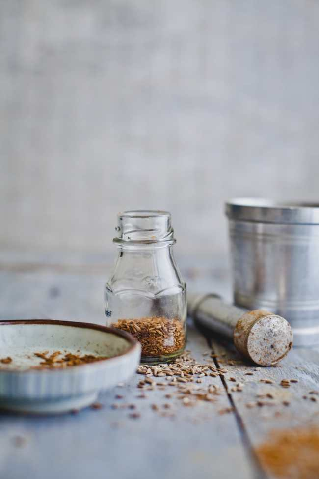 Roughly crushed roasted cumin seeds | Playful Cooking