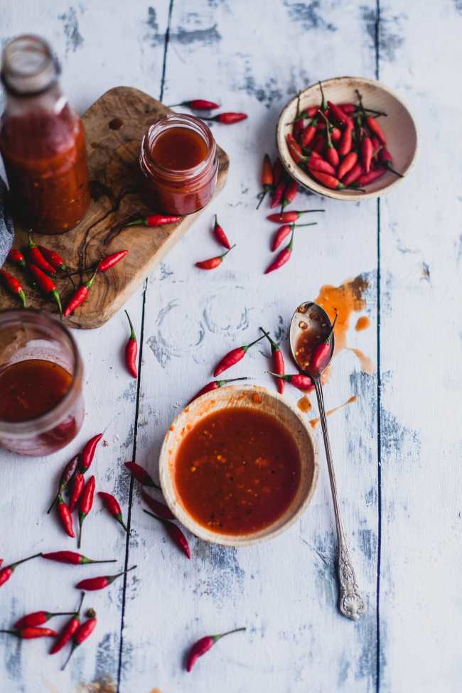Bird Eye Chili Zesty Hot Sauce   Playful Cooking