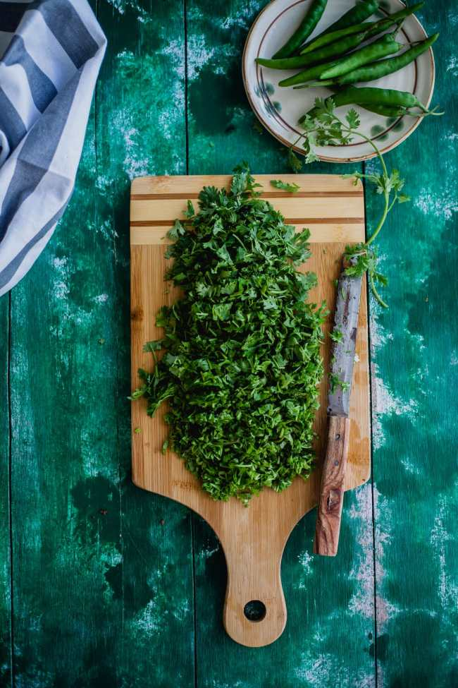 Cilantro Fritters | Playful Cooking