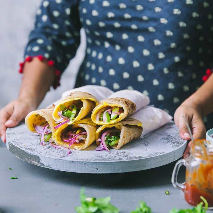 Kolkata Egg Roll | Playful Cooking