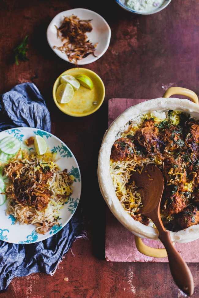 Chicken Kofta Dum Biryani | Playful Cooking