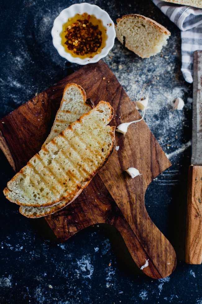 Rustic White Bread 07