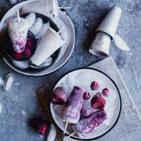 Instant Berry Kulfi (Instant Berry Creamsicles) | Playful Cooking