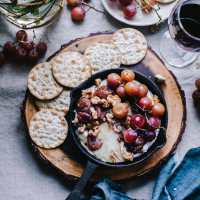 Grape Chutney on Baked Brie | Playful Cooking