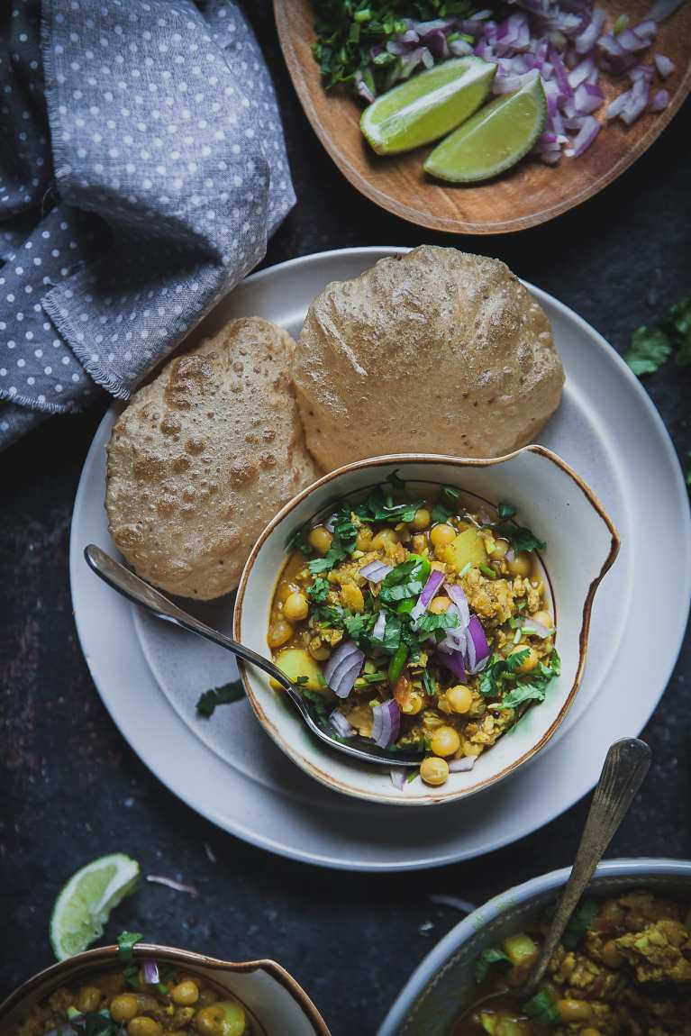 Chicken Ghungni (Yellow Peas And Mined Chicken Stew) And Announcing the Cookbook Cover   Playful Cooking