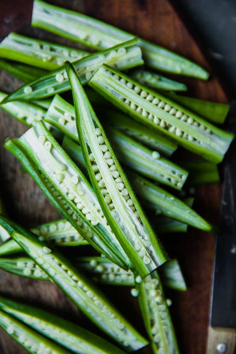 Raw Okra| Playful Cooking